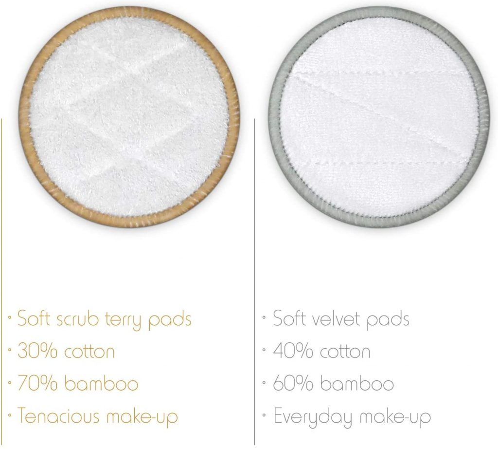 Soft and Hard Scrub Makeup Removers