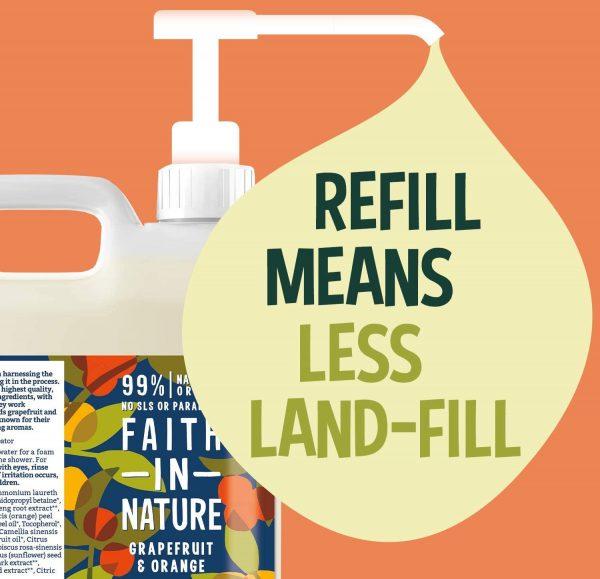 Eco Friendly Faith In Nature shampoo