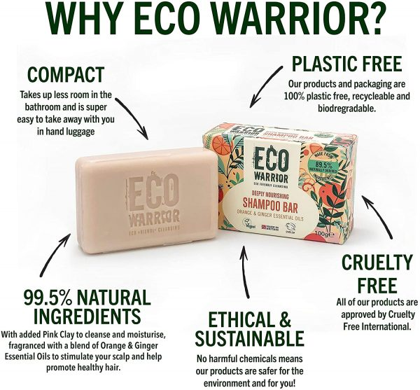 Eco Warrior Eco Friendly Shampoo Bar