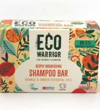Eco Warrior Shampoo Bar In Plastic Free Package