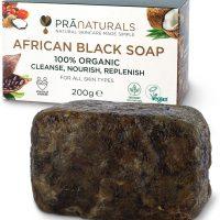 African Black Shower Soap