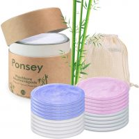 Ponsey reusable makeup remover pads
